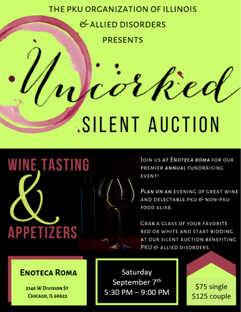 2019 Silent Auction is only a month away!
