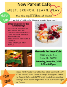 2019 New Parent Cafe Flyer